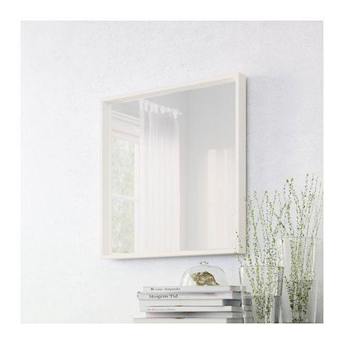 Nissedal espejo blanco espejo blanco ikea y espejo for Espejo godmorgon