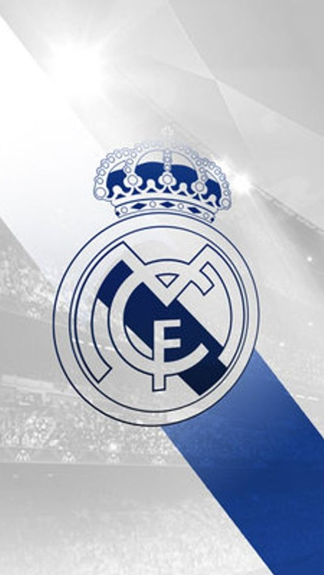 White And Blue Real Madrid Iphone 5 Hd Wallpapers Dunia Sepak Bola Spanyol