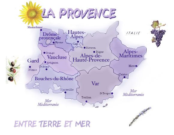 Lavender Fields France Map.Carte Provence Provence Places Poetry Food Pinterest