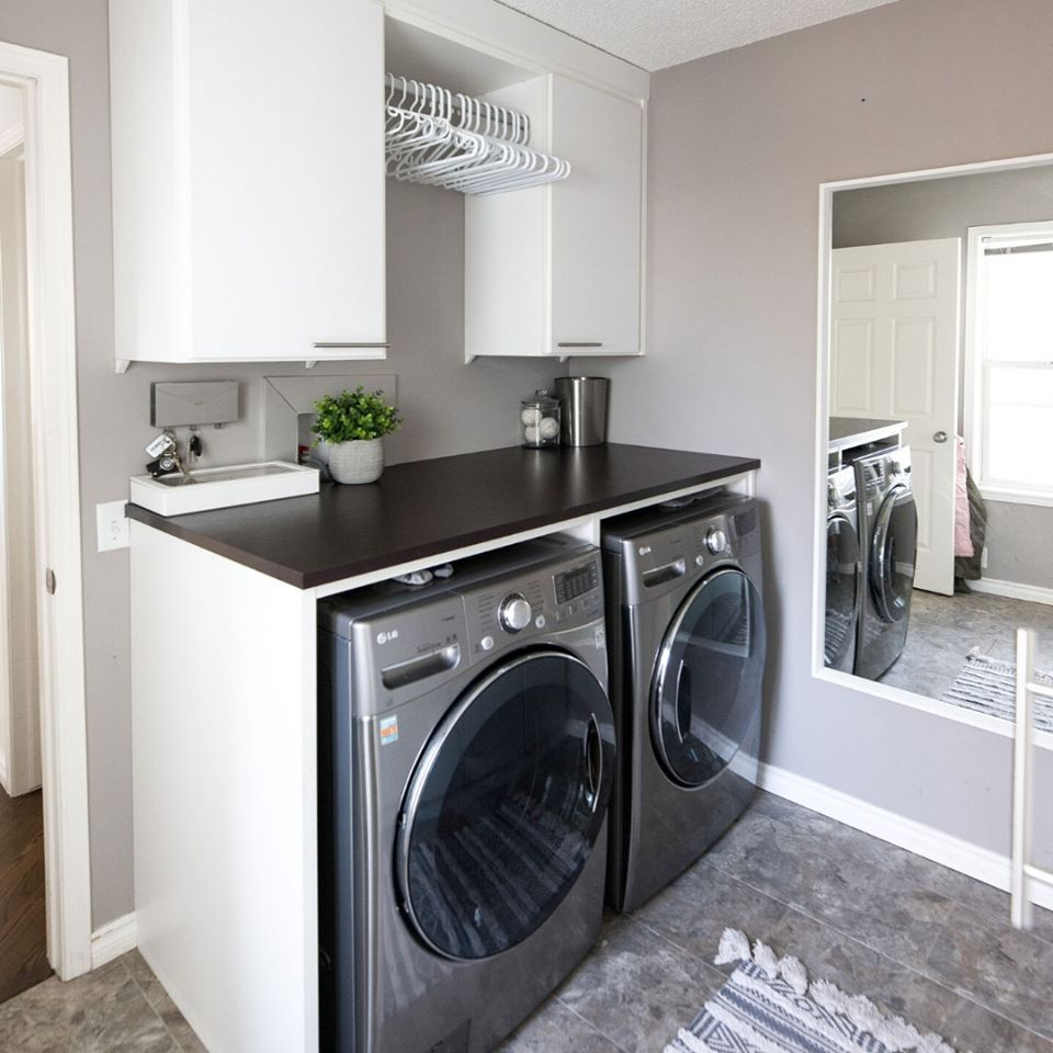 Pin On Beautiful Functional Laundry Rooms