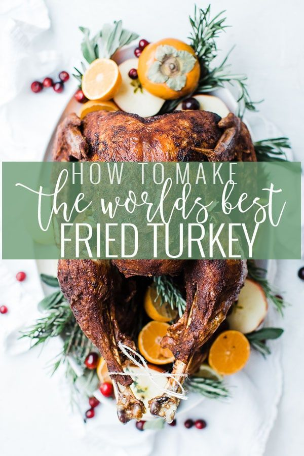 Photo of The Best Fried Turkey Recipe | Tips | Oh So Delicioso