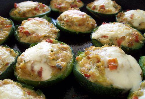 Lunes sin carne zapallitos rellenos de quinoa zucchini recipes food forumfinder Image collections