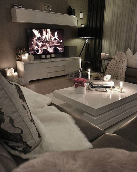 Dream Living Room: Pin By PrincessK On ️ Dream House ~