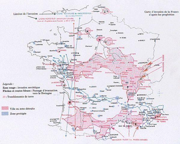 Autres témoignages confirmant la venue du Grand Monarque   Carte, Carte  bretagne, Marie