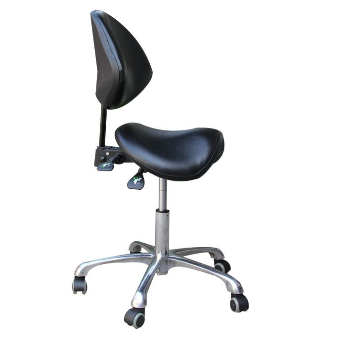 Standard Dental Mobile Chair Saddle Doctor S Stool Pu Leather
