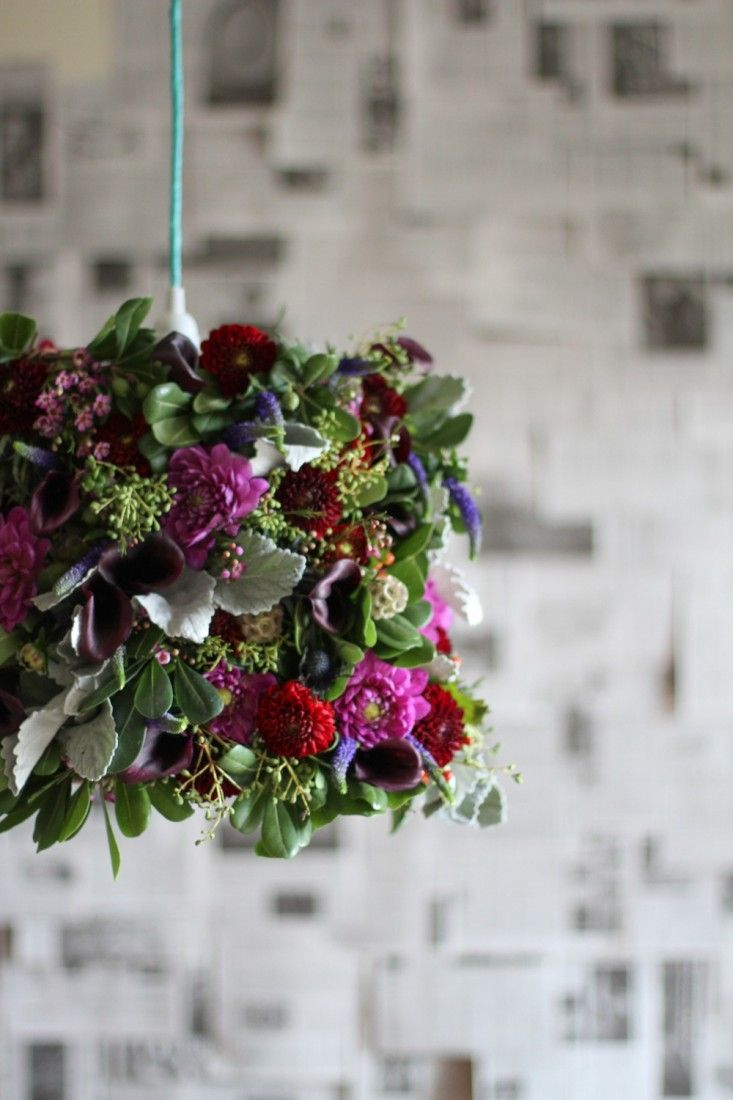 Flower chandelier by Brittni Mehlhoff