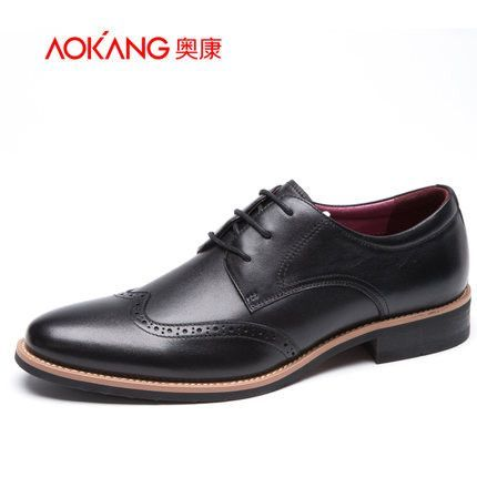 1f8c04d8601ef Aokang New arrival Genuine Leather men shoes Casual Flats Dress Shoes Men  Autumn Oxfords Shoes For Mens Loafers Zapatos Hombre