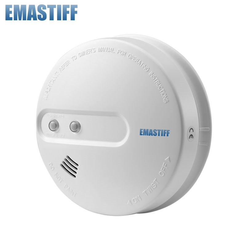 13.69$  Buy now - Free Shipping! HOT sale!!!1 pcs Wireless Smoke detector for Smart Home Automation, Home security and Alarm  #aliexpressideas