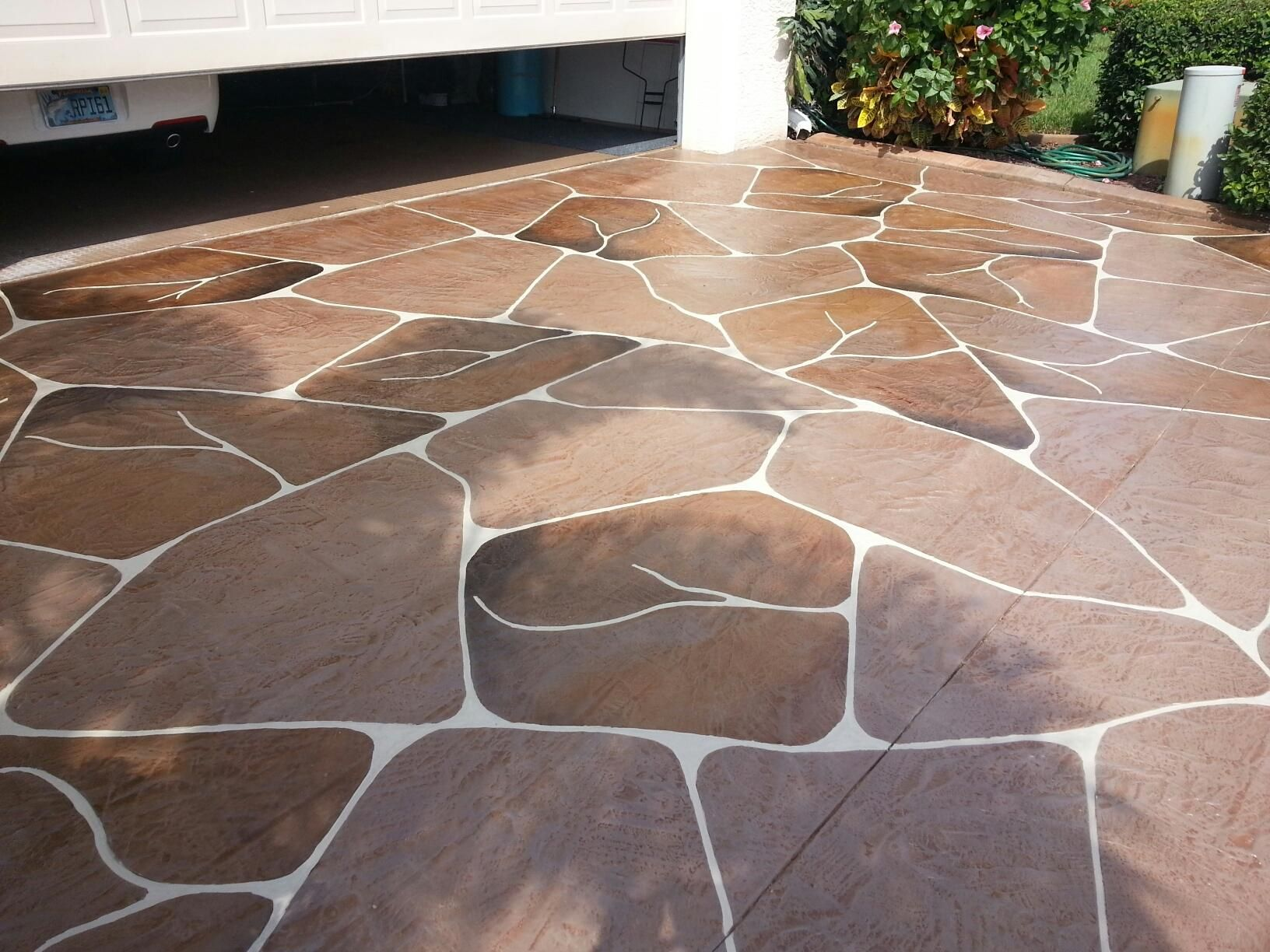 Decorative Concrete Driveway In Fort Myers Florida Learn More At