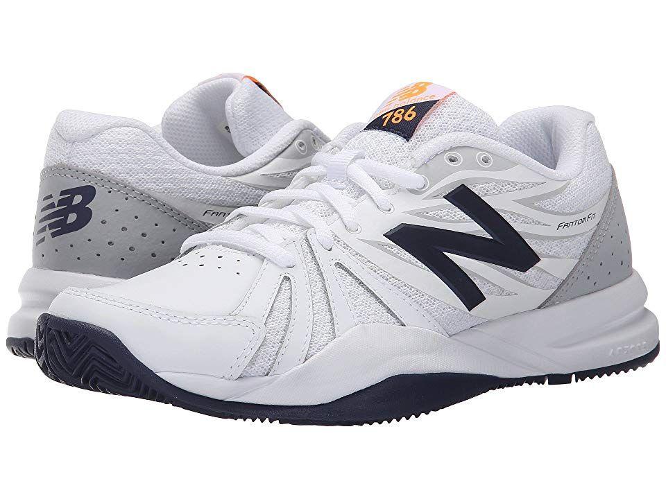 New Balance WC786v2 Women's Tennis Shoes White/Blue