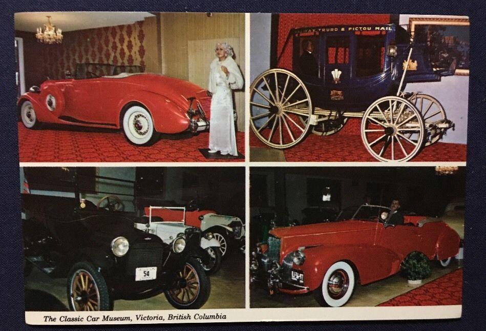 Victoria British Columbia The Classic Car Museum Vintage