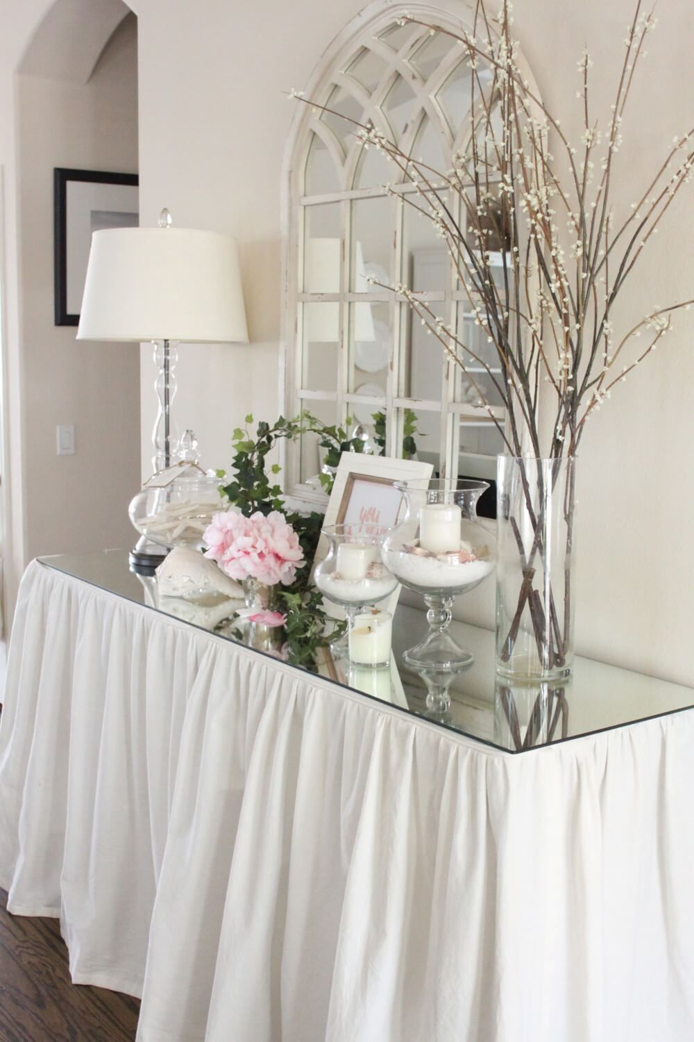 eyecatching entry table ideas to make a fantastic first