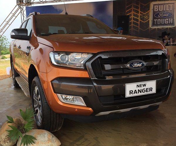 Ford Ranger wildtrak 2017. Dòng xe bán tải có doanh số bán lớn nhất. Báo giá xe bán tải ford ranger 2017
