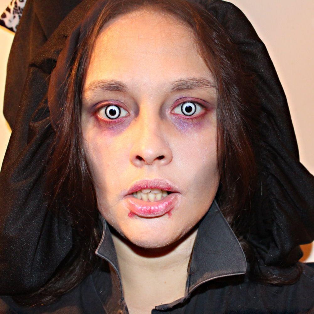 Halloween vampire makeup diy halloween pinterest maquillage vampire les lentilles et vampire - Maquillage vampire halloween ...