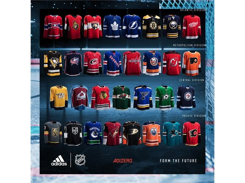 NHL® and adidas Unveil New Hockey Jerseys for 2017-18 Season ... 656a63ae00b