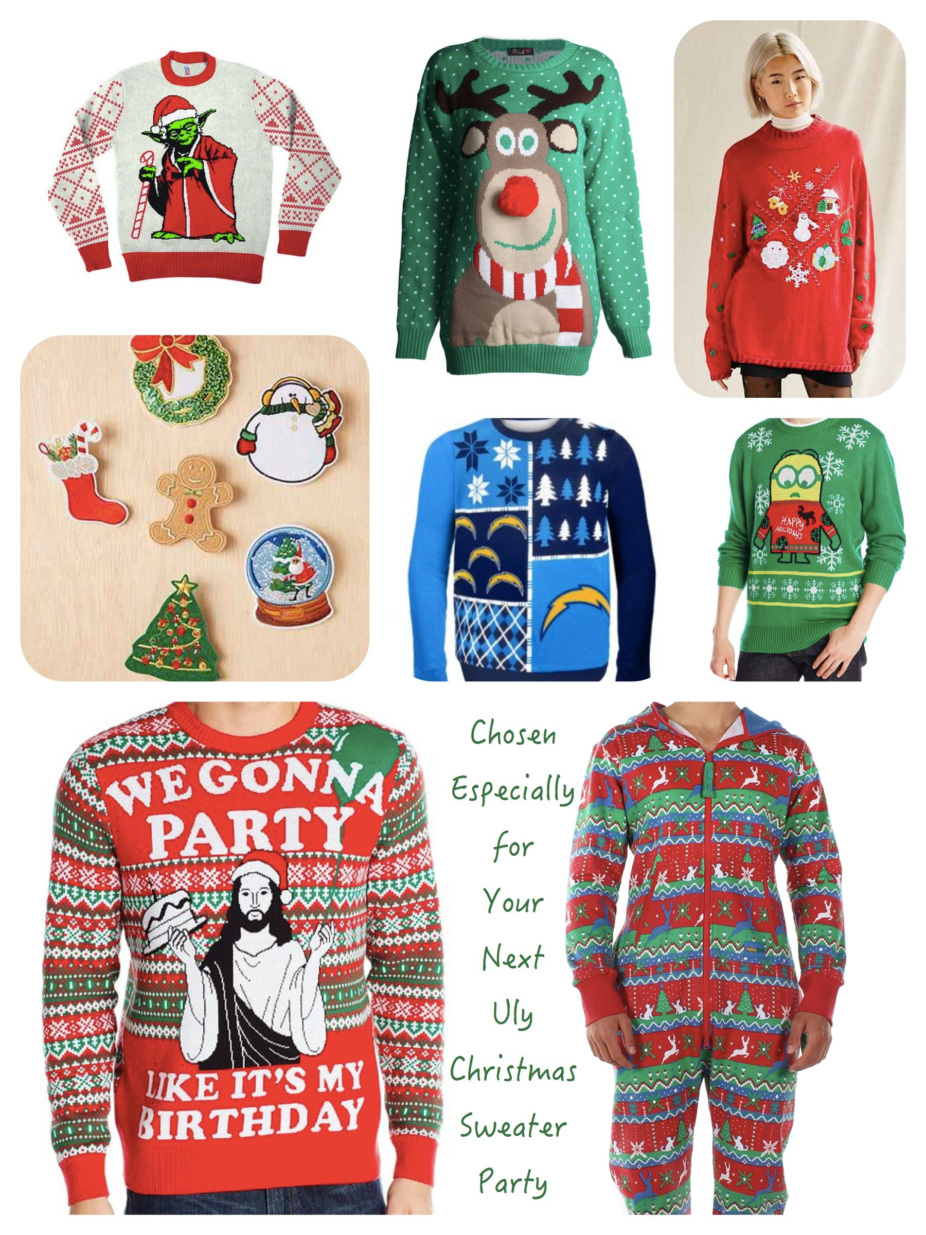Marvelous Christmas Sweater Party Ideas Part - 7: Ugly Chrismtas Sweater Party Sweaters. Ideas PartyTheme IdeasModern  ChristmasHolidays ...