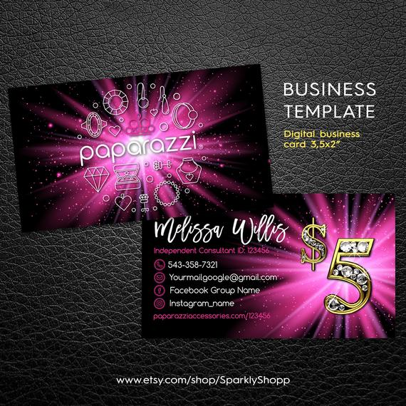 c47aa7ea6a244 Paparazzi Business Cards | jewelry business card | paparazzi ...