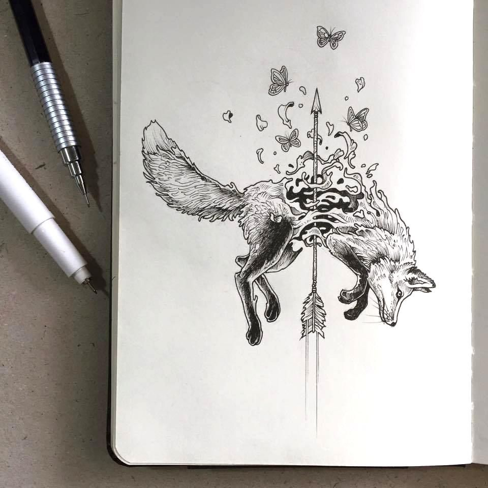 drawing by Kerby Rosanes