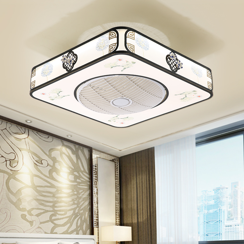 Enclosed Ceiling Fan With Light Energy Saving 23 Inch Qm8030 Ceiling Fan With Light Fan Light Energy Saving Lighting