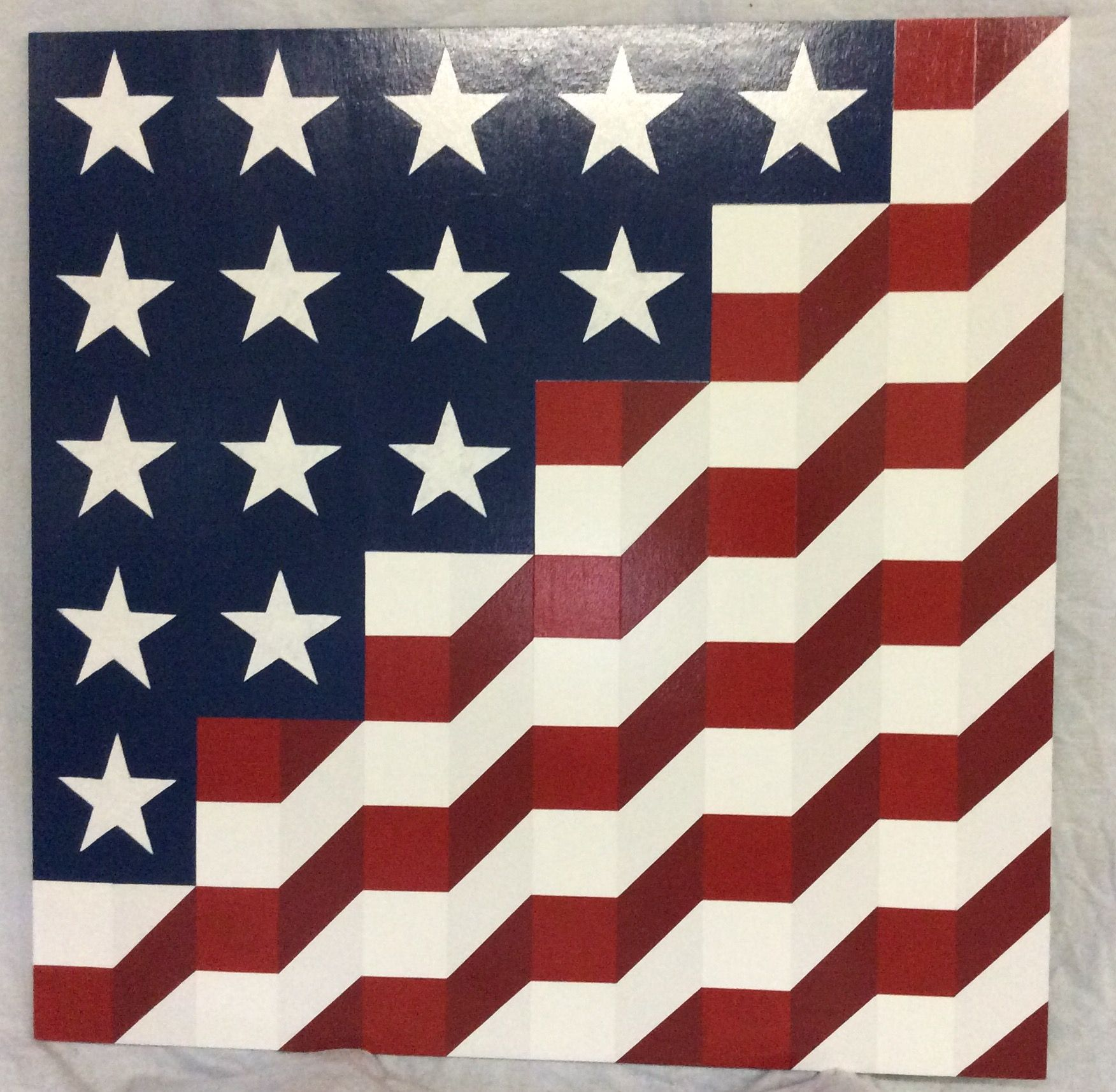 Old Glory Painted Barn Quilts Barn Quilts American Flag Quilt