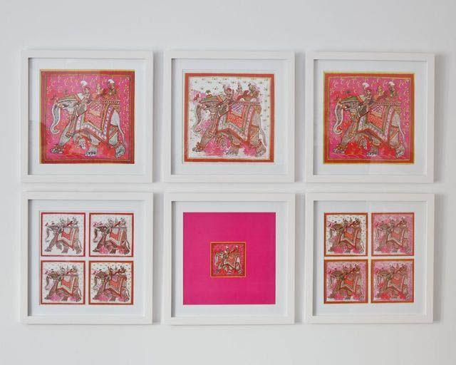 The Hermes Scarf A Fab Diy Hermes Scarf Framed Silk Scarf Hermes Home