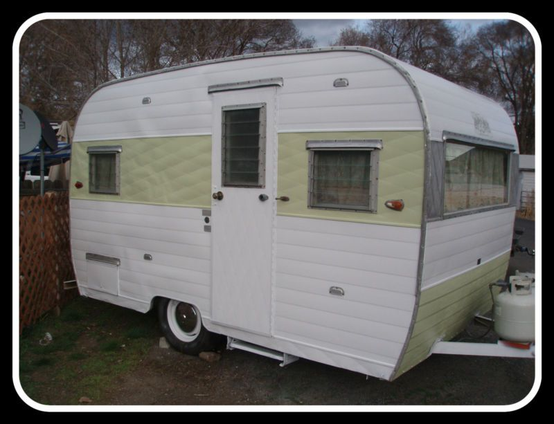 1964 Aloha Vintage Travel Trailer 12ft Ebay Vintage Travel Trailers Travel Trailer Retro Travel Trailers