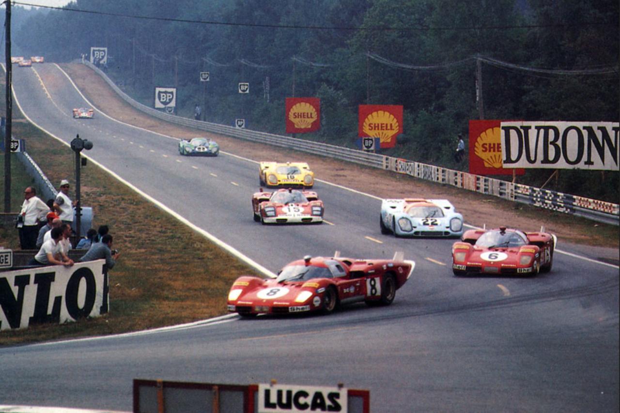 Vintage 8 X 10 1970 Daytona 24 Two Ferrari 512S/' Jacky Ickx /& Nino Vaccarella