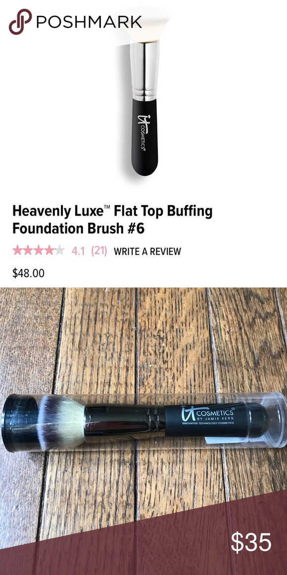 Heavenly Luxe Flat Top Buffing Foundation 6 It