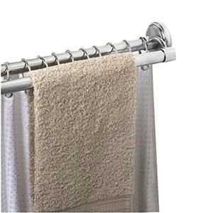 Genial Speakman S 36601 SS Adjustable Double Shower Curtain Rod For Openings  Between 43 Inch X 72 Inch, Polished Chrome