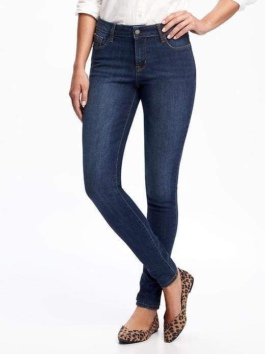 e8ebb1a4c77c9 Old Navy Mid-Rise Rockstar Super Skinny Jeans for Women | BMT ...
