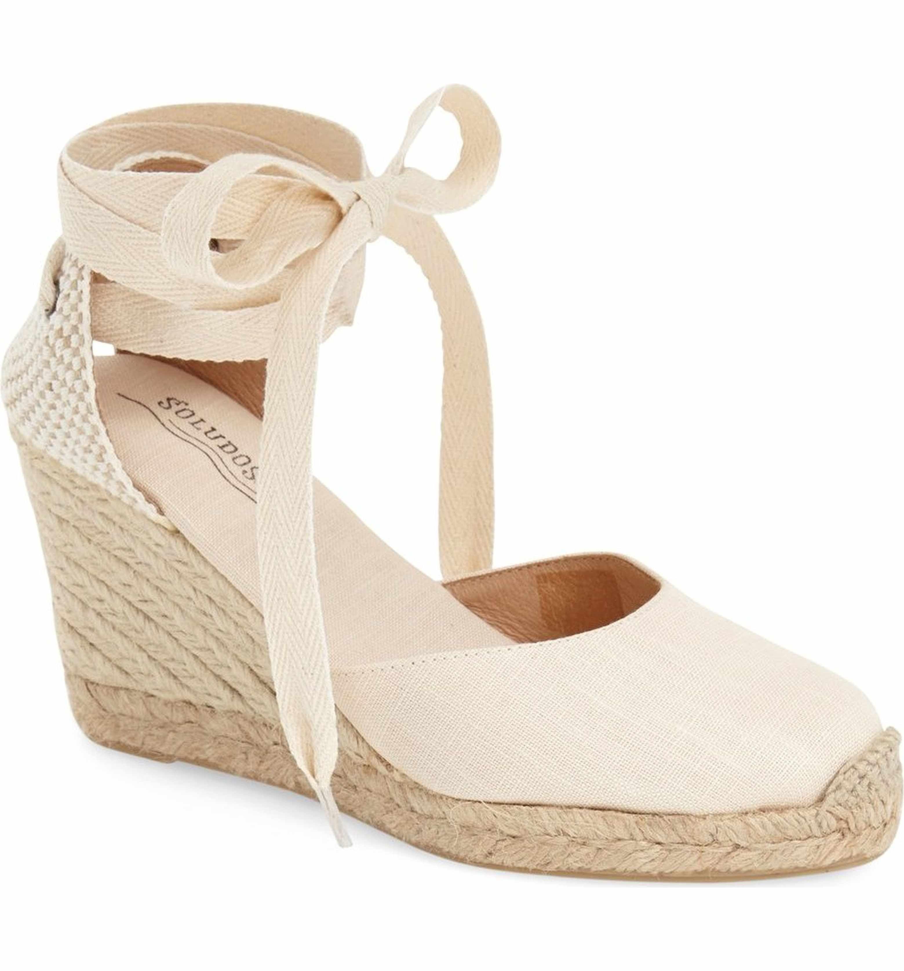 be29dc8fec1 Main Image - Soludos Wedge Lace-Up Espadrille Sandal (Women)
