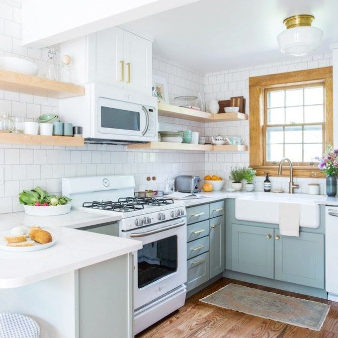 You'll Want To Move To Tennessee After Seeing This Kitchen And Bath Update In 2019