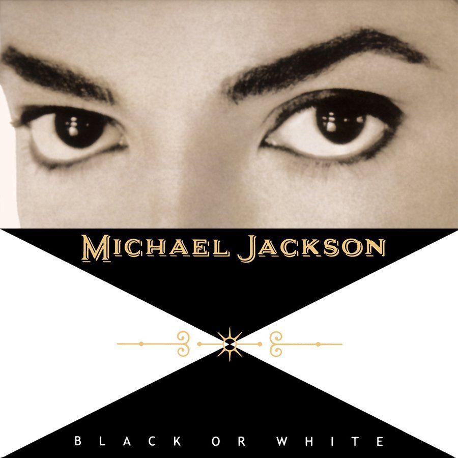 Michael Jackson – Black or White (single cover art)