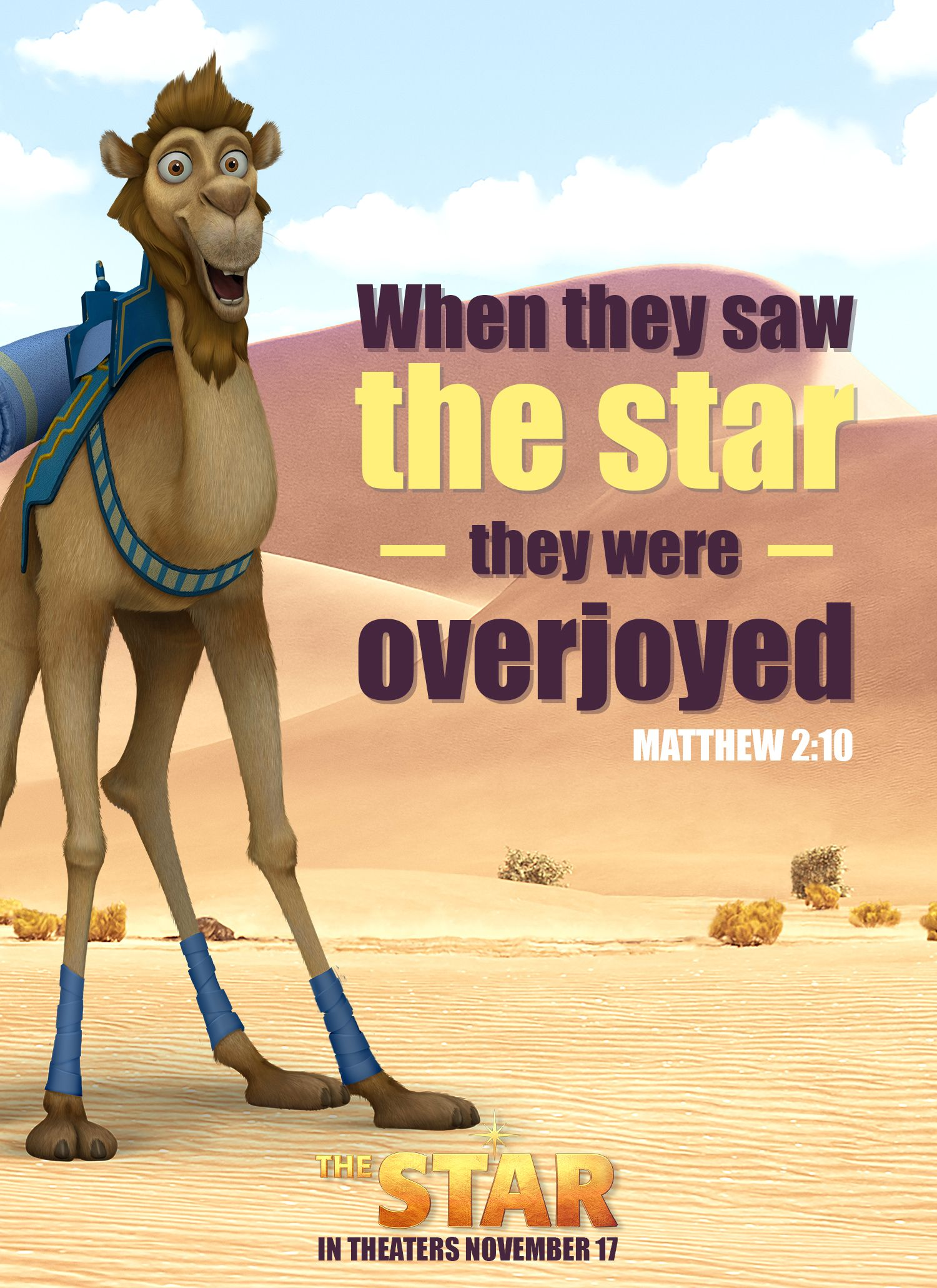 """""""When they saw the star, they were overjoyed."""" (NIV"""