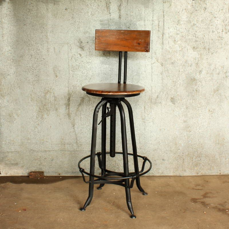 bar stool urban vintage stools old uk swivel metal