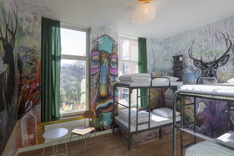 king kong hostel in rotterdam by antonia reif architectuur and scheurwater/vandenhoven