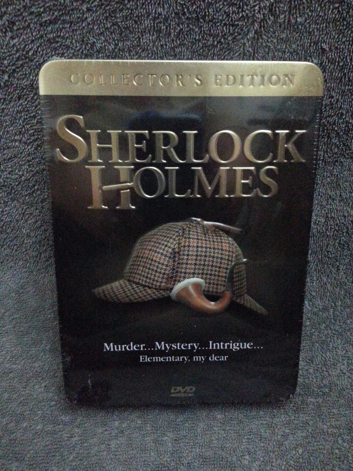 Sherlock Holmes collector's edition metal tin set