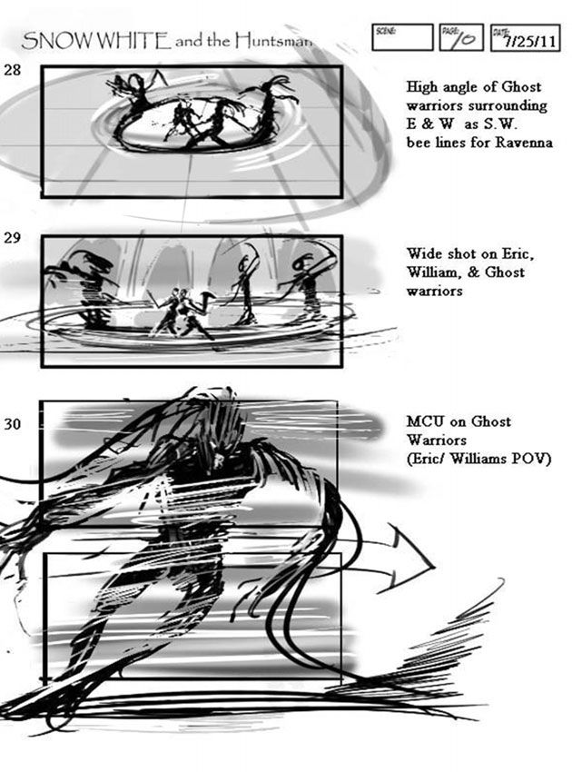 Snow White And The Hunstman' Storyboard Artist: Jeff Errico