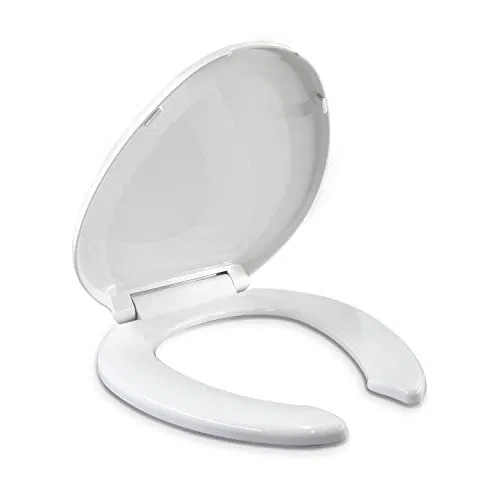 Elongated Toilet Seats Slow Close Hinge With Lid Open Front Best Offer Furniturev Com In 2020 Elongated Toilet Seat Toilet Seat Front Open
