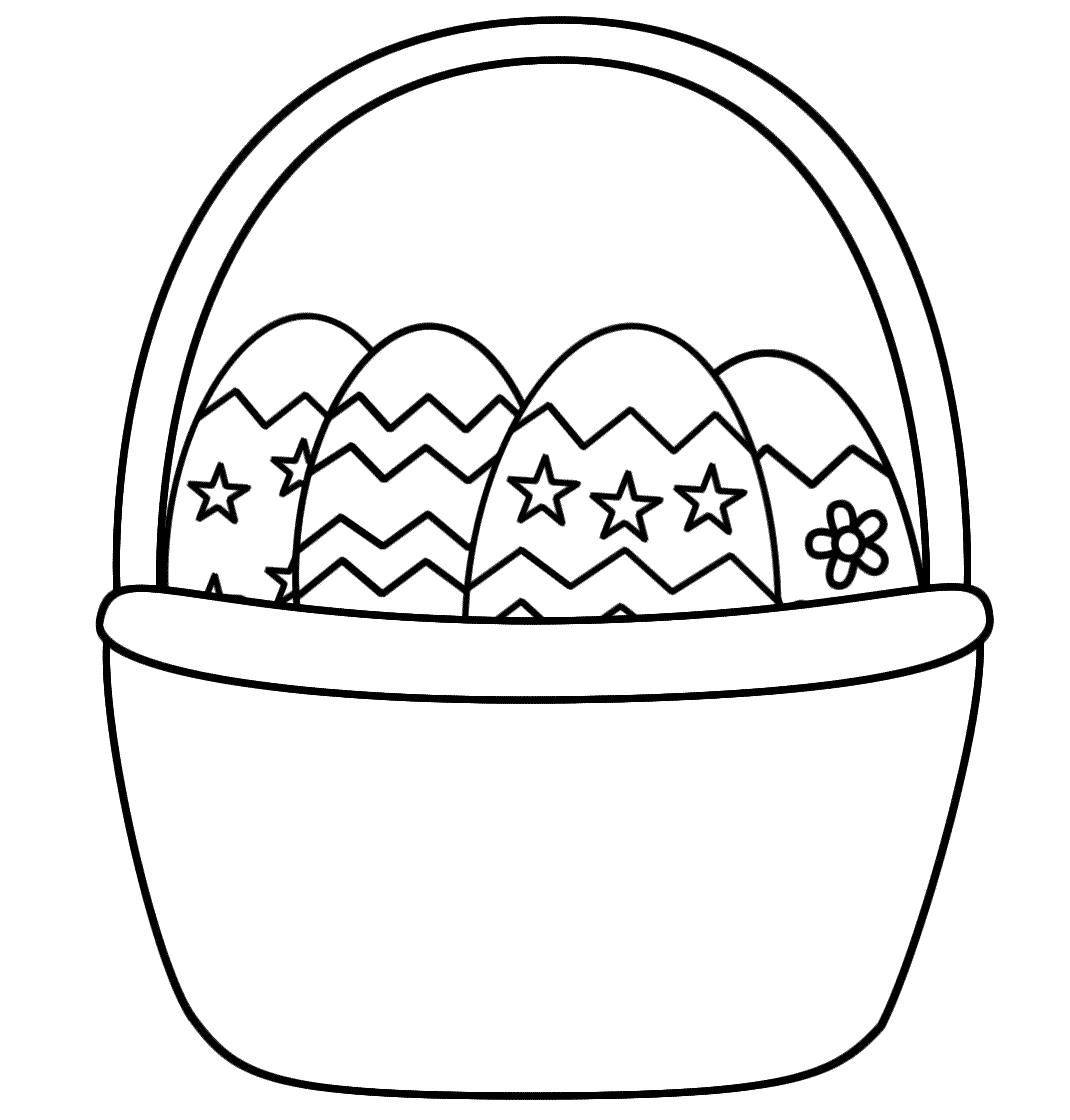 http://colorings.co/easter-basket-coloring-pages/ | Colorings ...