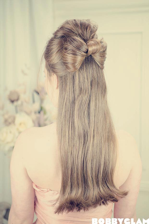 Bow Hairstyle Loving This Halfup Halfdown Hair Bow As A Prom Hairstyle