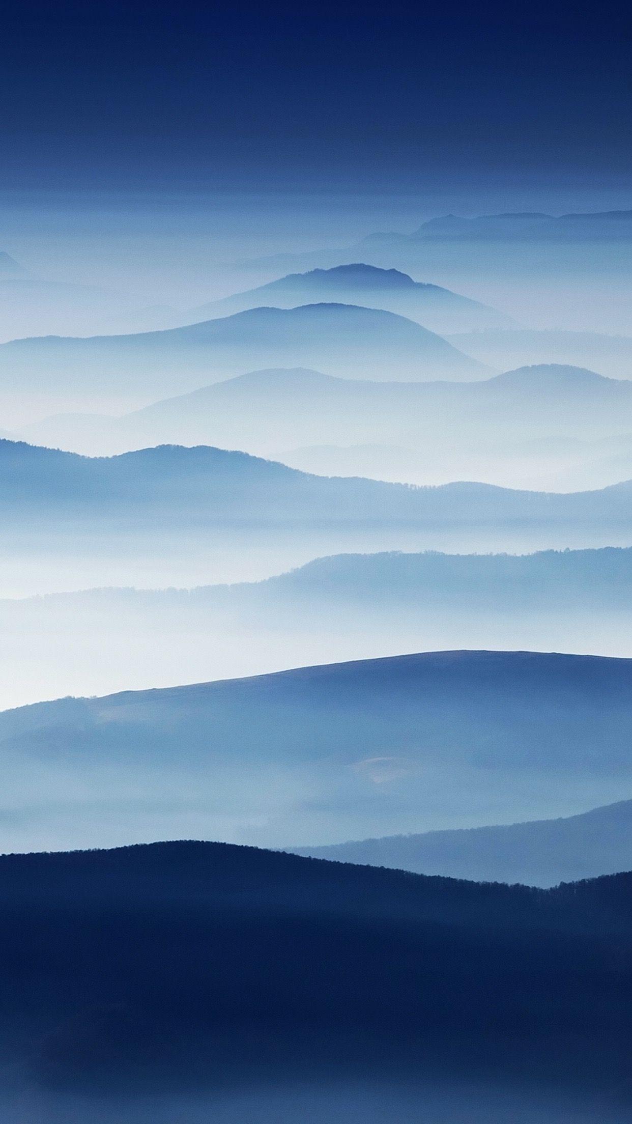 Mountain Layers | Minimalist wallpaper, Minimal wallpaper ...