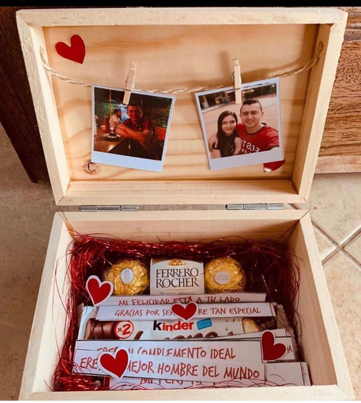 gifting box with chocolates in 2020 Birthday diy gifts