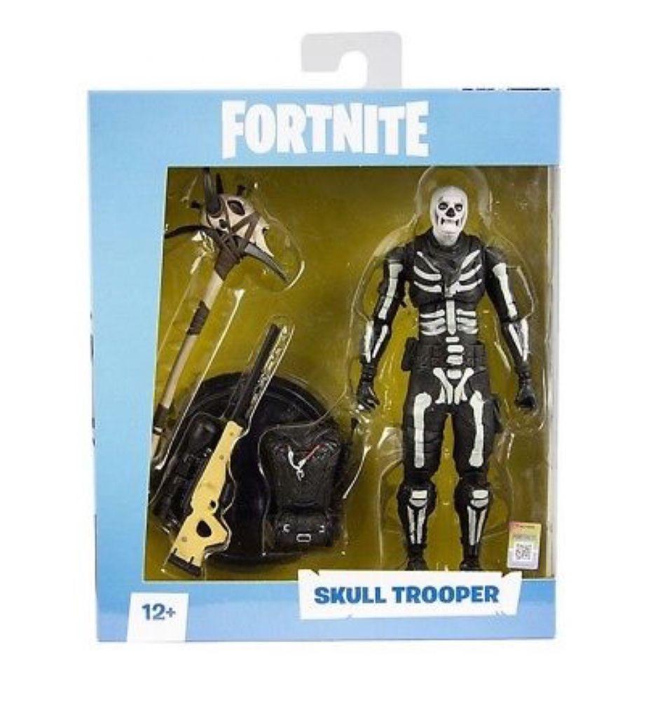 Mcfarlane Toys Fortnite Skull Trooper 7 Inch Action Figure