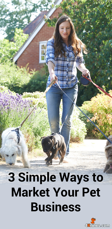 3 Simple Ways to Market Your Pet Business | Pinterest