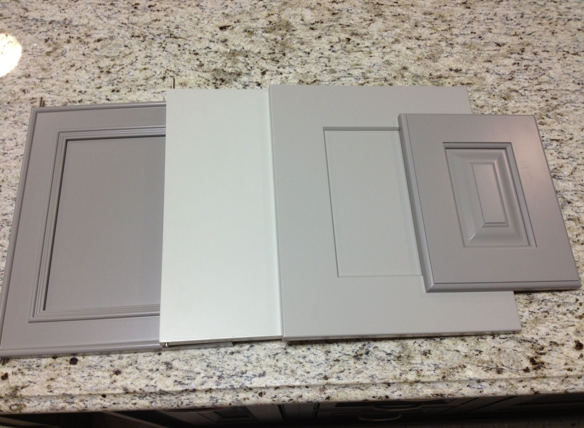 Painted Grey Kitchen Cabinets : Amazing Light Grey Cabinet ...