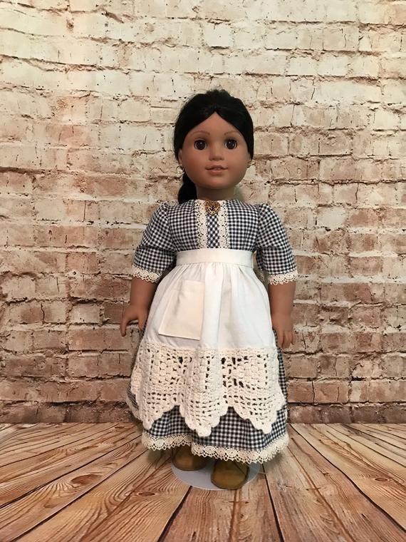 18 doll clothing/American Girl 18 doll/18inch doll clothes/18 doll dresses/fits 18 doll American Girl/historical doll dresses 18inch/AG #historicaldollclothes