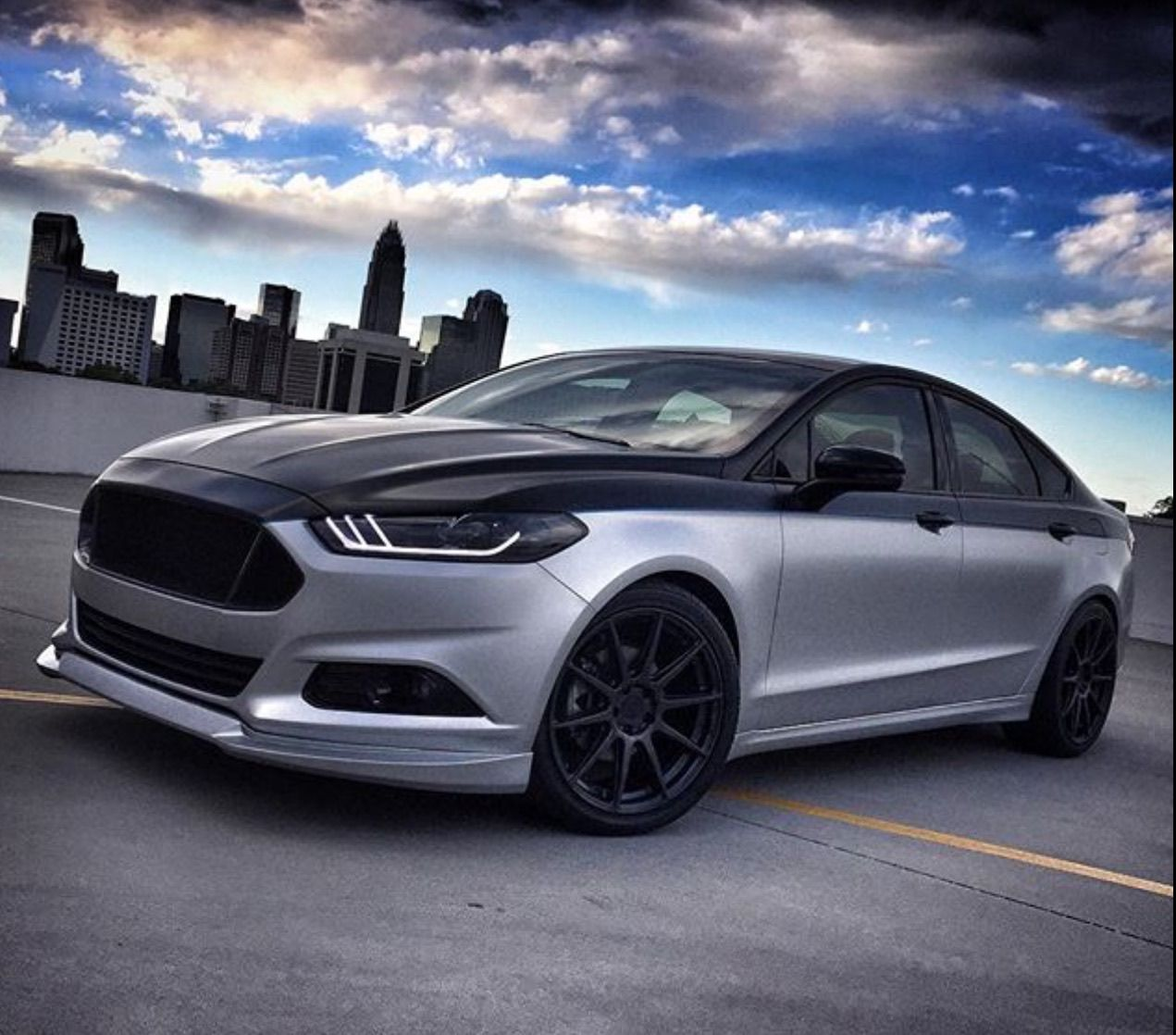 Guess this ford? Ford fusion custom, Ford fusion, Ford