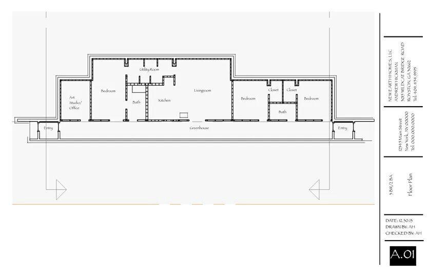 Earthship Home Floor Plans: Earthship Future House
