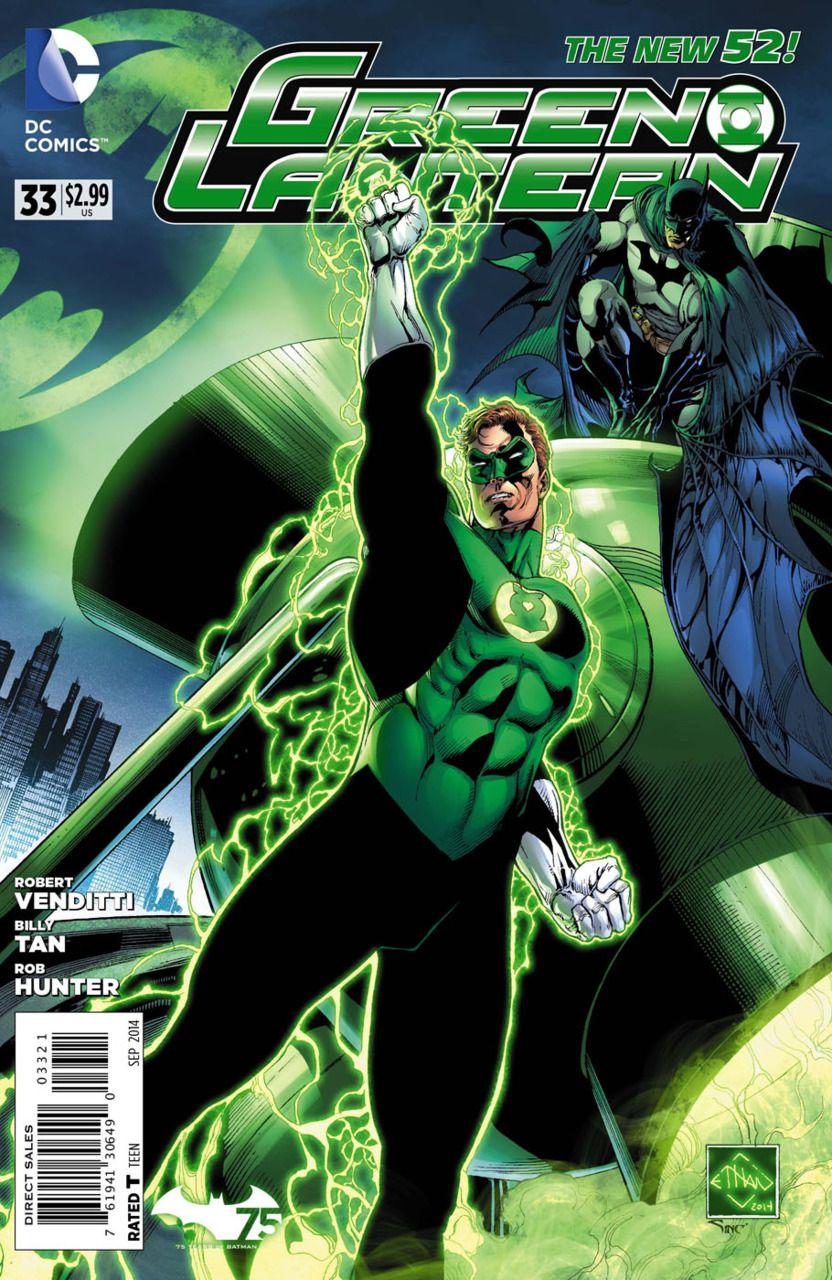 DC Green Lantern Corps #33 Uprising Comic Book 2014 New 52